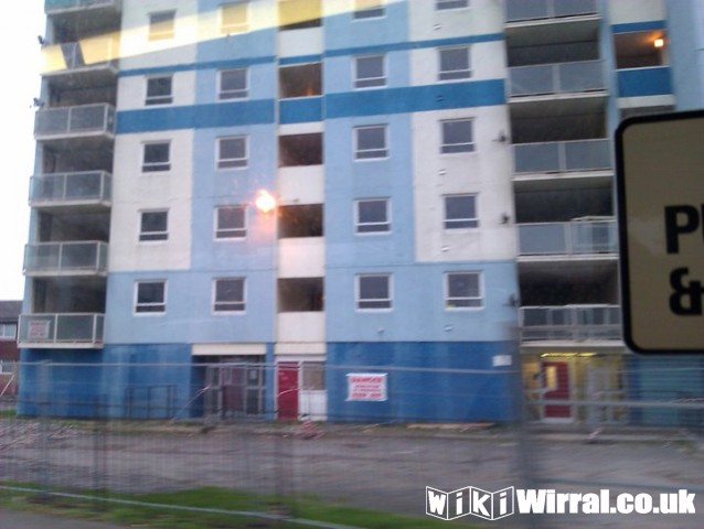 Fender Heights Being Demolished - Wirral - wikiwirral co uk