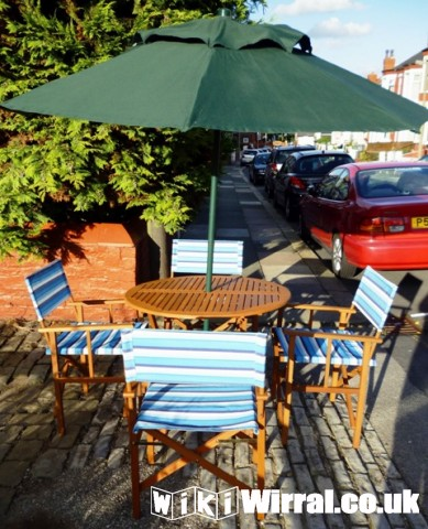 Garden Table 4 Chairs With Parasol For Sale Items